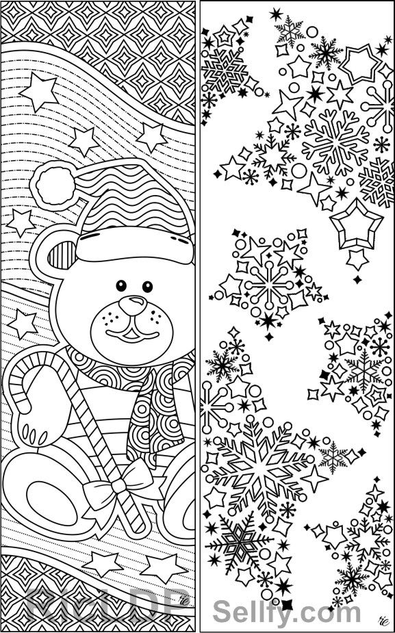 Christmas Coloring Bookmarks Xmas Bookmarks Coloring Christmas Coloring Bookmarks Christmas Coloring Sheets Coloring Pages