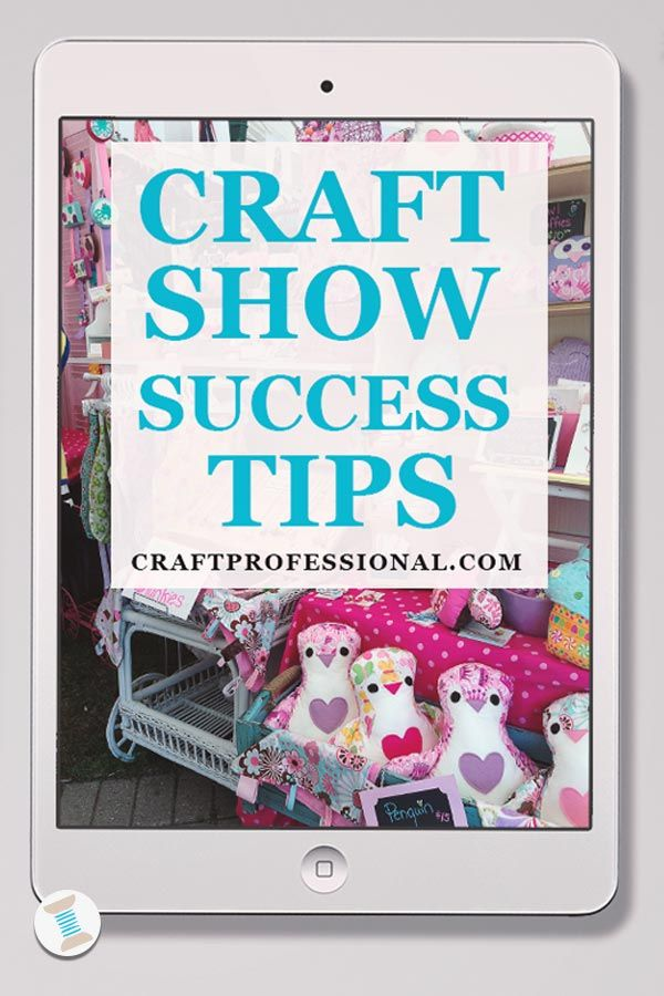 Tips for getting started with craft shows here - http://www.craftprofessional.com/art-and-craft-show.html