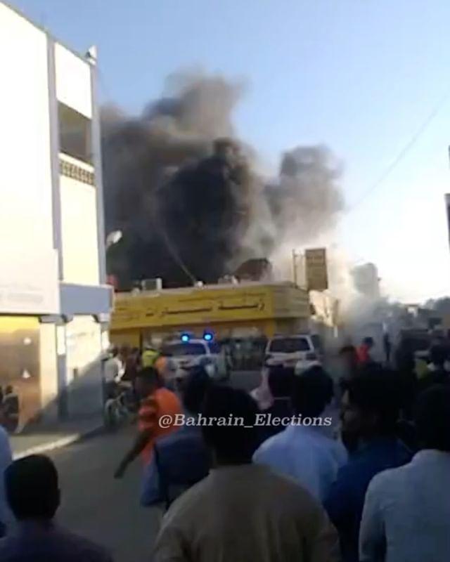 البحرين بالفيديو الداخلية الدفاع المدني يدفع بـ 28 ضابطا وفردا و 7 آليات لإخماد حريق اندلع في مستودع للمواد الغذائية بمنطقة سوا Bahrain Election Concert