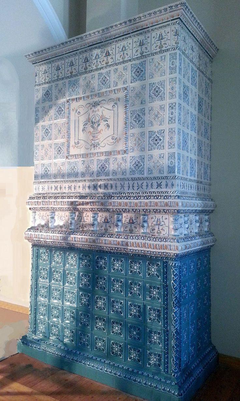 Изразцовая печь в Саввино-Сторожевском монастыре
