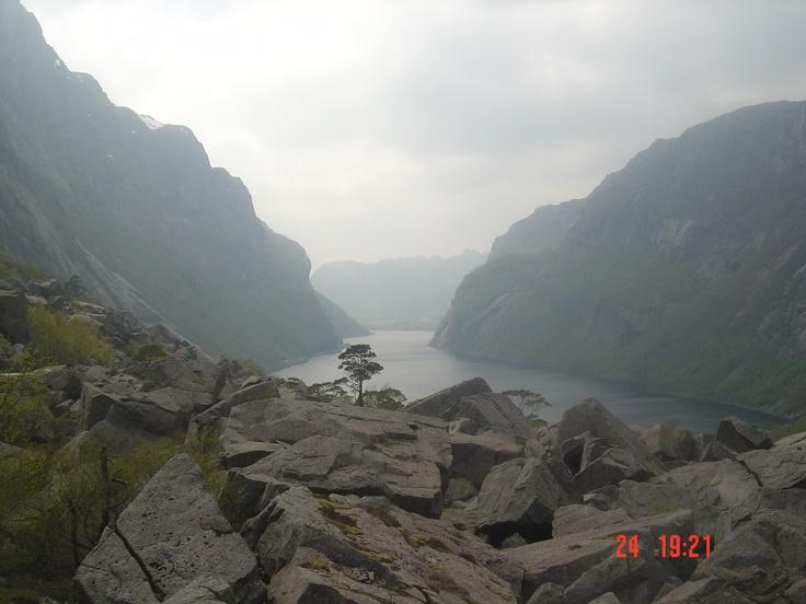 Gloppedalsura scree, Norway