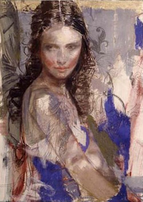 Charles Dwyer, Blue Muse