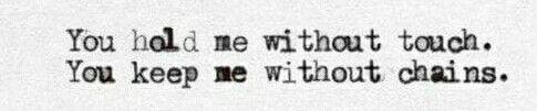 You do.