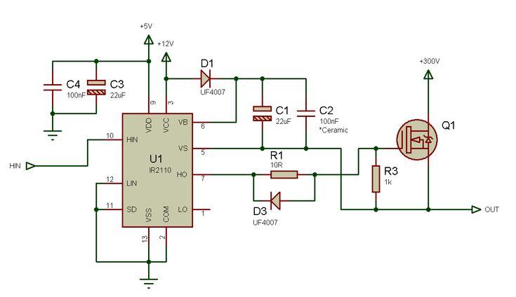 Tlp250 Igbt Driver Schematic Power Supply Schematic