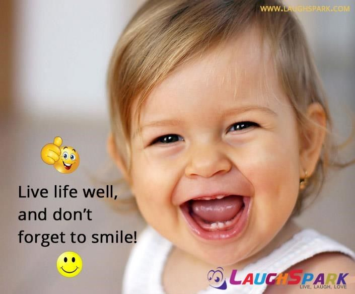 #Live #Life Well and Don't Forget to #Smile   #TopQuotes on Life And Love #CuteBaby #Laughspark  http://www.laughspark.com/live-life-well-and-dont-forget-to-smile-top-quotes-on-life-and-love-11525