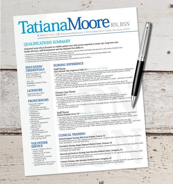 This resume template will help you organize your experience into a format that makes sense, is easy to read, and stands out!