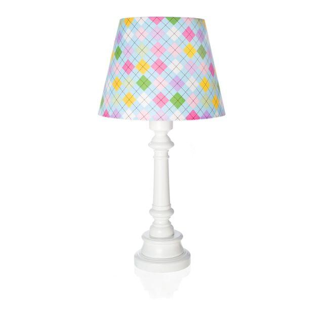 "Lampa ""Niebieska kratka"" - stożek"