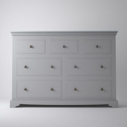 Oxford 3 Over 4 Wide Chest of Drawers