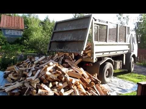 Доставка дров Санкт-Петербург (СПБ) и Ленинградская область - Рос Лес