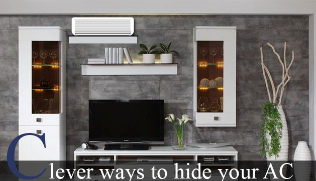 Have Your Rooms Look Great Without Ac Unit Popping Out In