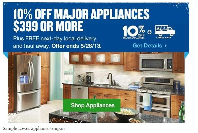 Lowes Appliance Coupon - http://www.lowescouponn.com/lowes-appliance-coupon/