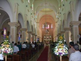 Inside the San Ramón Parish Church-San Ramon, Alajuela