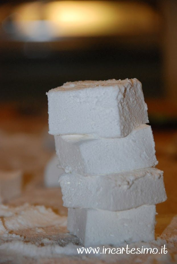 Incartesimo: Ricetta facile per marshmallow casalinghi