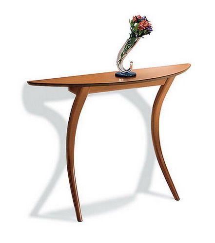 Mesa de dos patas arqueadas mesas consolas de dos patas for Table 6 1 aisc