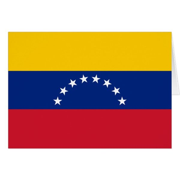 Flag Of Venezuela Bandera Venezolana Zazzle Com In 2021 Flag Venezuela Flag Traveling By Yourself
