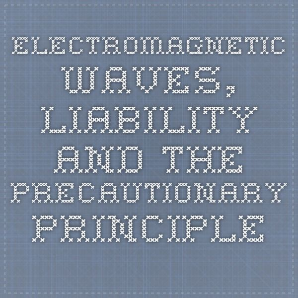 DOCUMENT:  Electromagnetic Waves, Liability and the Precautionary Principle in the Brazilian legal system - JusBrasil, 6th June 2015 [Google Translate. Huge Brazilian article on the legal aspects of EMR exposure, and the Precautionary Principle. There's a lot of legalese in the first three sections, and the EMF-specific discussion starts in Section 4]…