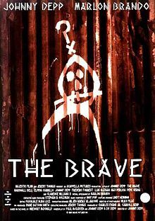 The Brave    Original film poster //   Directed by	Johnny Depp  Produced by	Charles Evans, Jr.  Carroll Kemp  Written by	Gregory McDonald  Paul McCudden  Johnny Depp  D.P. Depp  Starring	Johnny Depp  Cody Lightning  Nicole Mancera  Marlon Brando  Elpidia Carrillo  Music by	Iggy Pop  Cinematography	Vilko Filač  Editing by	Pascale Buba  Distributed by	Majestic Films International  Release date(s)	1997