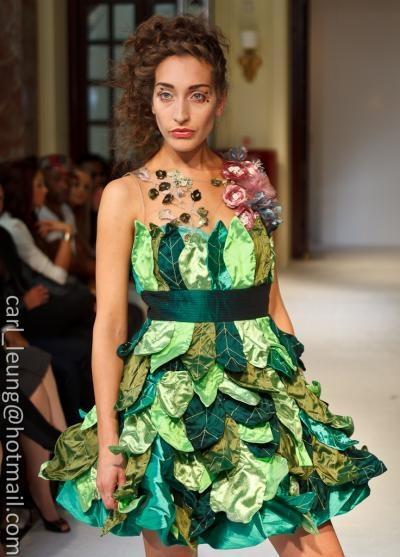 Gaia dress, unique