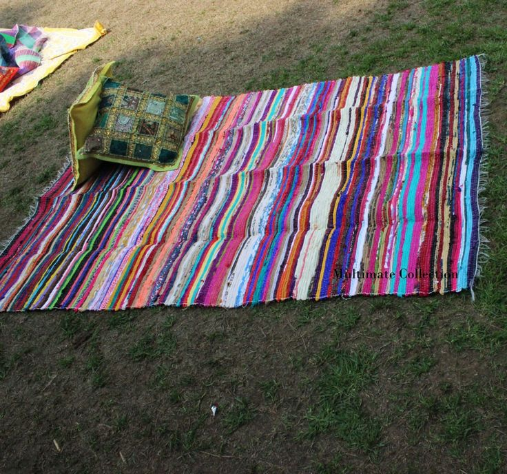 Handmade Rag Rugs For Sale: 51 Best Chindi Rug, Cheap Area Rag Rug, Handmade, Recycled
