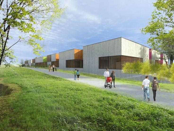 GROUPE SCOLAIRE LOUIS PERGAUD - Briey (54) - MO: Ville de Briey - Architecte: Giovanni Pace - Photographe: Mairie de Briey - NF HQE Bâtiments Tertiaires - Niveau HQE Excellent