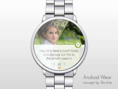 Android Wear Concept