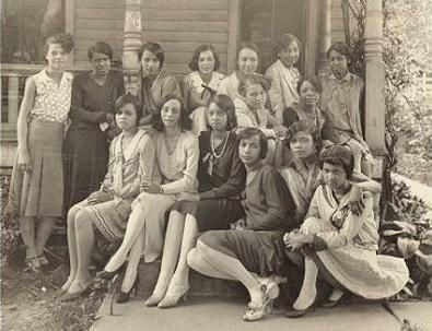 CultureSOUL *Sepia Visions* - Vintage Female Greeks - The African Americans - AKA sorority  1. University of Kansas, 1917