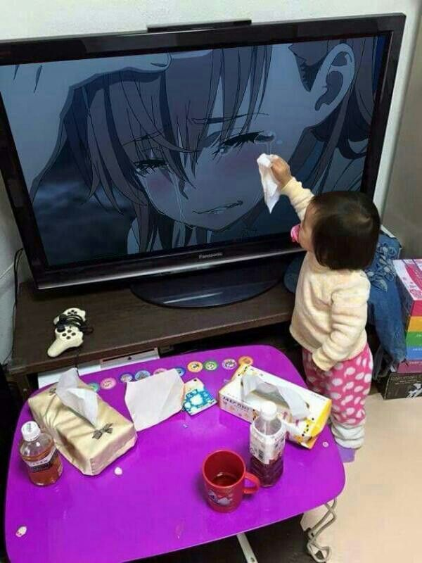 Omg that is the most adorablest thing I have seen all day.  This child is my perfection