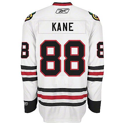 Patrick Kane Chicago Blackhawks Mens Road White Player Jersey by Reebok #Chicago #Blackhawks #ChicagoBlackhawks
