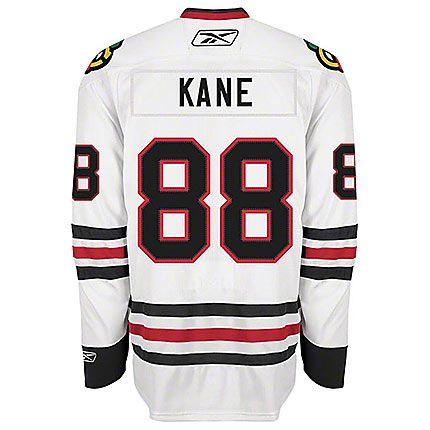 Patrick Kane Chicago Blackhawks Mens Road White Player Jersey by Reebok #Chicago #Blackhawks #ChicagoBlackhawks