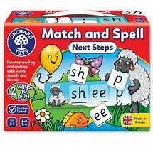 Award winning Orchard Toys Match and Spell Next Steps is the perfect progression from Orchard Toys' bestselling, award-winning Match and Spell. Aimed at children aged 5 and over, the game helps to develop more advanced reading and spelling skills using both sounds and blends. http://buff.ly/2u7BBNR?utm_content=buffer82ad6&utm_medium=social&utm_source=pinterest.com&utm_campaign=buffer