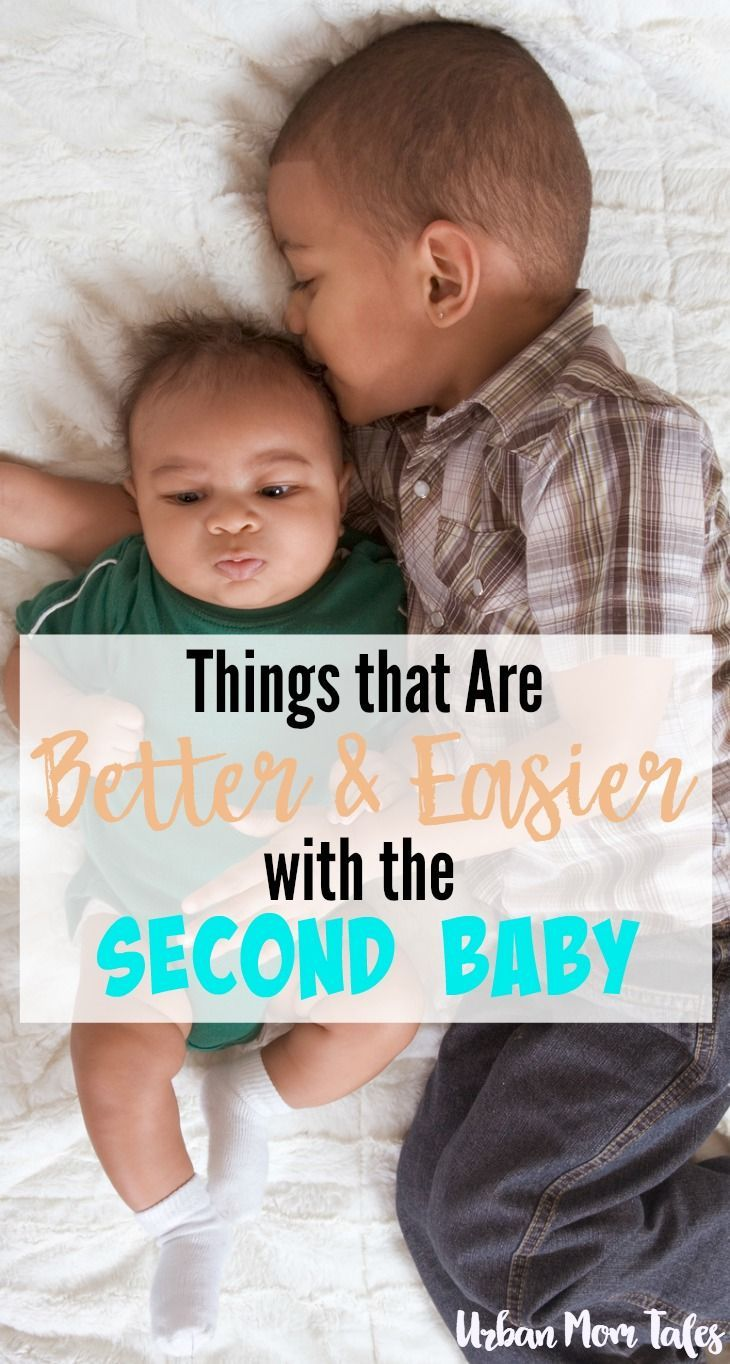 YES, it's true! There are things that are better and easier with the second baby. If you are thinking about going for baby #2, this article is for you.