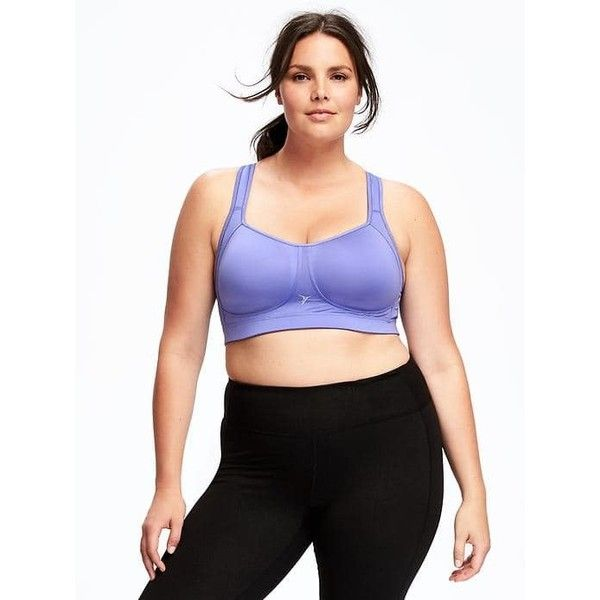 Old Navy Womens Extreme Maximum Support Sports Bra ($35) ❤ liked on Polyvore featuring plus size women's fashion, plus size clothing, plus size activewear, plus size sports bras, delphinium, old navy, old navy sports bra, adjustable sports bra, racerback jersey and padded sports bra