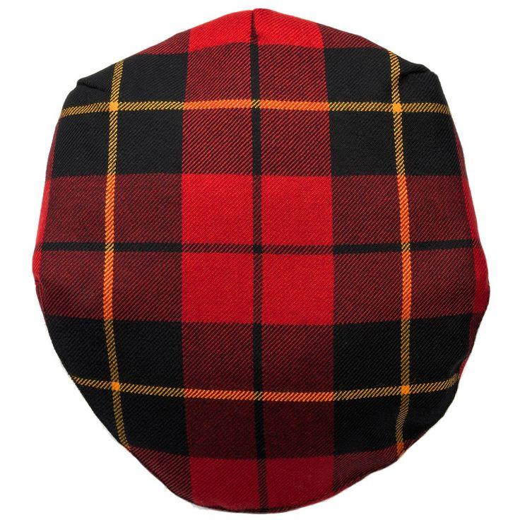 Wallace Modern Tartan Barnton Cap-Front