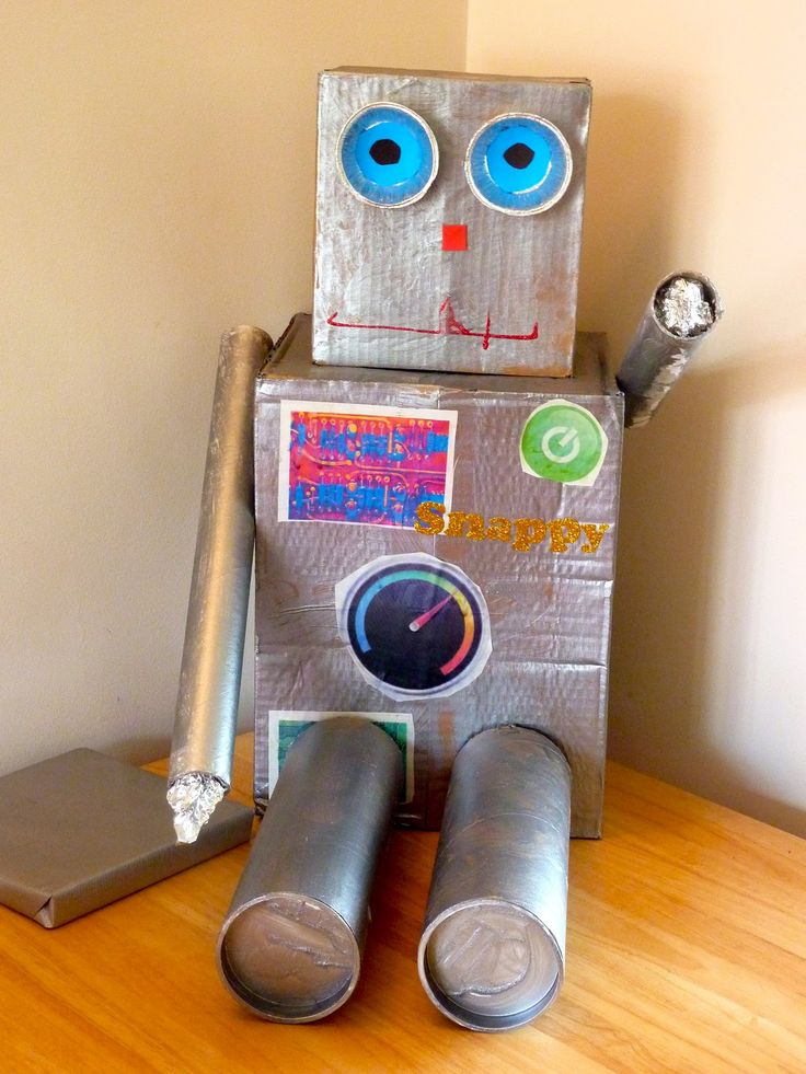 recycled robot