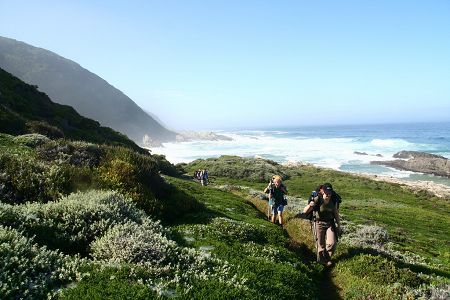 The Otter Trail is South Africa's best-known hiking trail, located in the Tsitsikamma forest of the Garden Route National Park, a place of great beauty.
