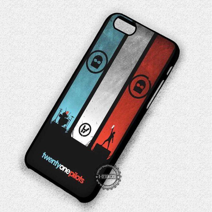 Twenty One Pilots Music Logo - iPhone 7 Plus 6S SE 4S Cases & Covers