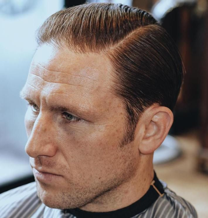 Side Part Haircut For Men