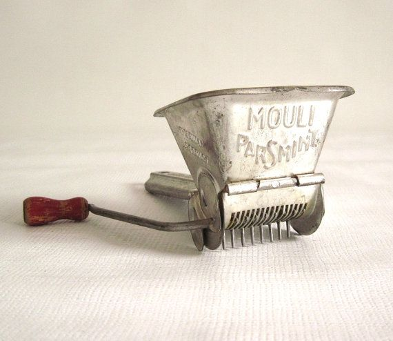 Mouli Parsmint Herb Chopper Made In France Persil Hand