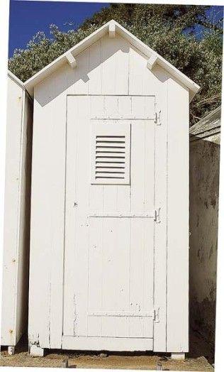 Les 25 meilleures id es de la cat gorie cabine de plage - Cabine de plage pour jardin ...