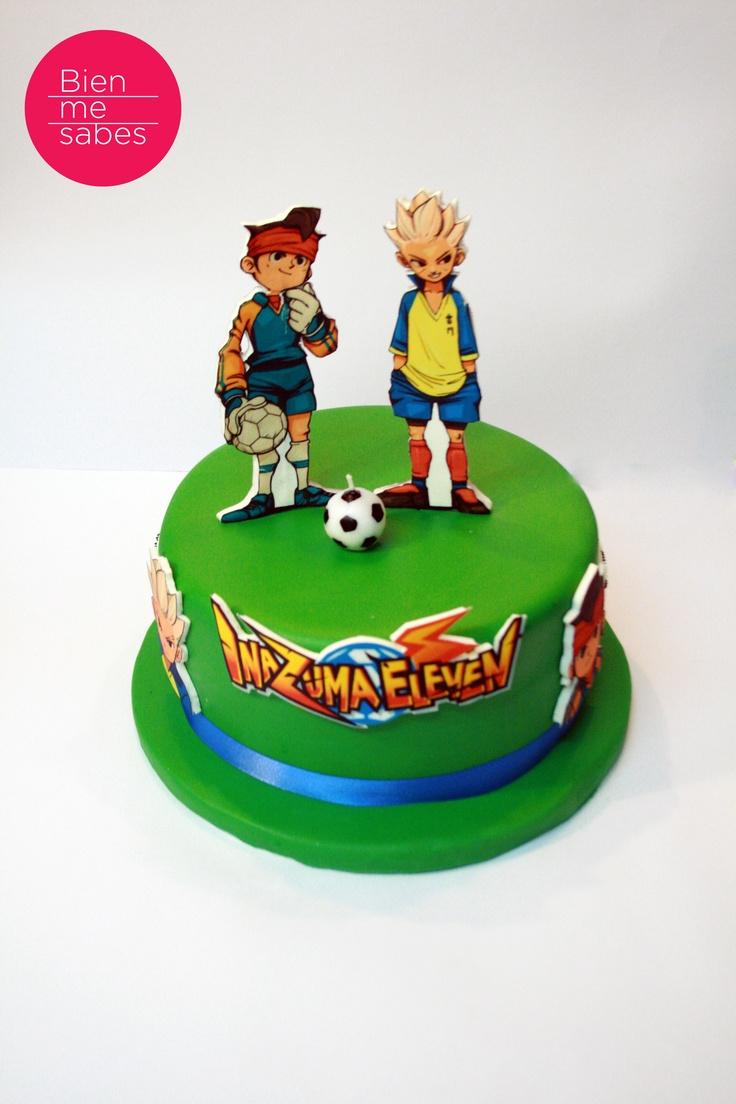Inazuma Eleven cake