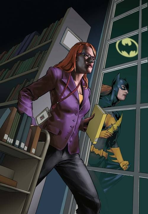 Barbara Gordon/Batgirl by Gene Ha