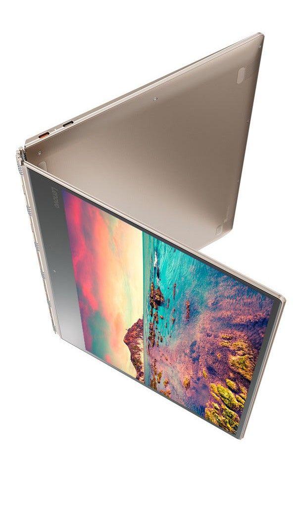"Lenovo 910 13.9"" 4K Yoga Laptop 7th Gen i7 16GB 1TB SSD Silver 2-in-1 Kaby Lake"