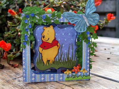 Monique's weblog: Pooh accordion flip kaart
