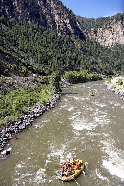 Glenwood Canyon CO River by Visit Colorado, via Flickr