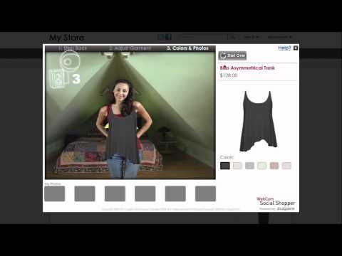 Zugara Brings Webcam-Augmented Clothes Shopping to Life