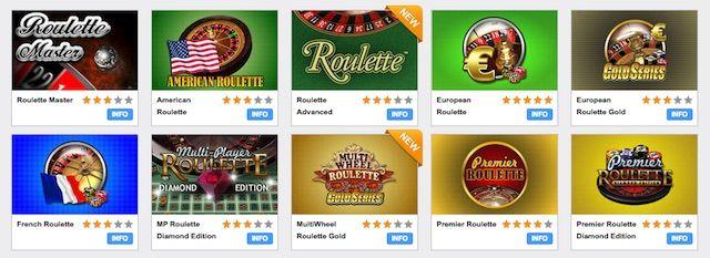 Jogue jogos de roleta grátis e online em Betmotion