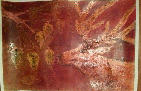 """Di Vora Anneliese, """"Brunftrot"""" on ArtStack #di-vora-anneliese #art"""