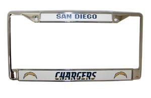 Fanzz Mobile Sports Apparel,San Diego Chargers Chrome License Plate Frame NFL, NBA, MLB Apparel, NFL, MLB, NBA Jerseys and Merchandise, NHL Shop | Fanzz