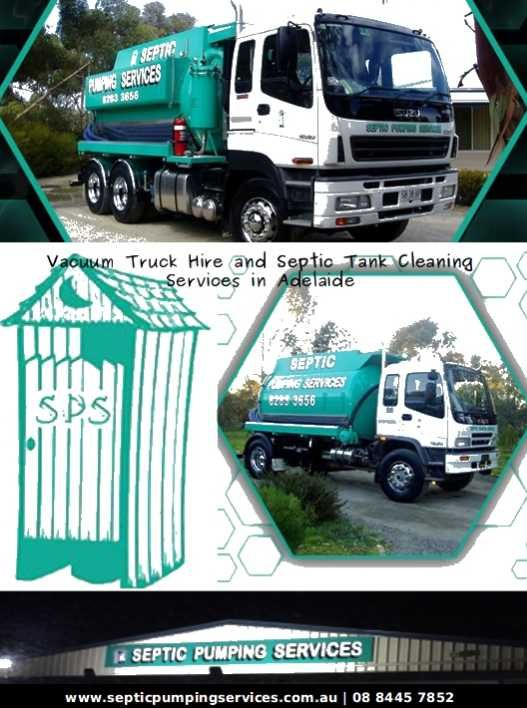 Offering the excellent Septic Tank Cleaning and Vacuum Truck Hire services in Adelaide at a reasonable cost.
