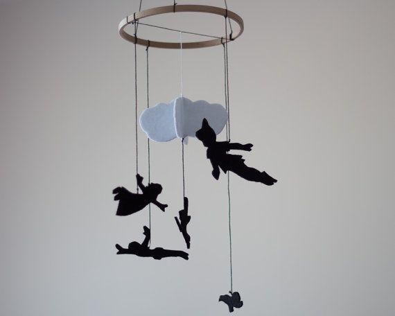 Peter Pan inspiré pépinière Decor Mobile se par DreamFlakeShop
